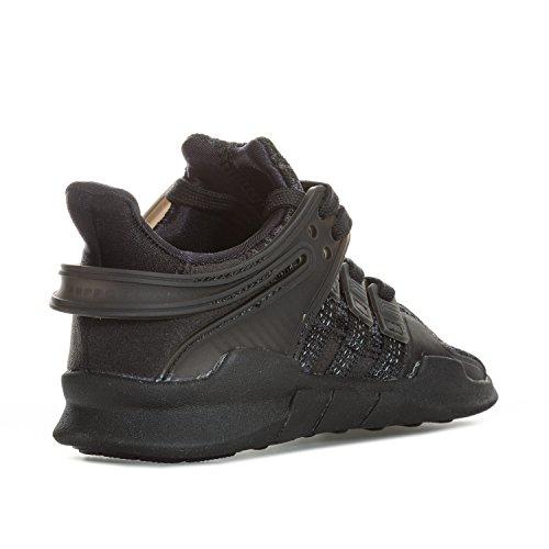 adidas Unisex-Kinder EQT Support ADV C Fitnessschuhe Schwarz (Negbas/Negbas/Negbas)