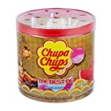 Chupa Chups - The Best of Cola, Creamy, and Fruit - Lollipops (60 count, Net weight 720g)