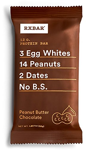 RXBAR Whole Food Protein Bar, Peanut Butter Chocolate, 1.83oz