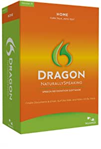 Dragon Naturally Speaking Home 11, English
