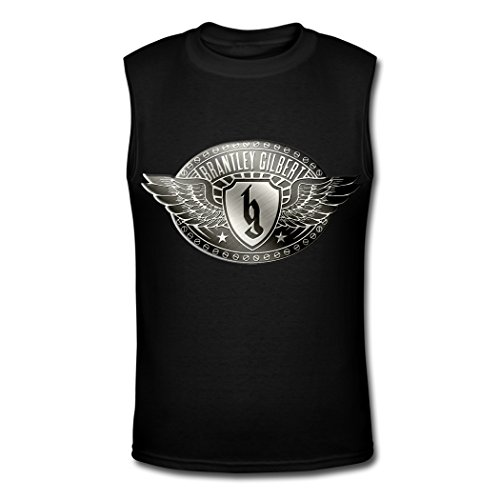 2016 Brantley Gilbert  tank top for mens T shirts Black XL