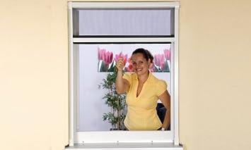 Insektenschutzrollo Farbe Weiss Fur Fenster Bis 130 X 160 Cm