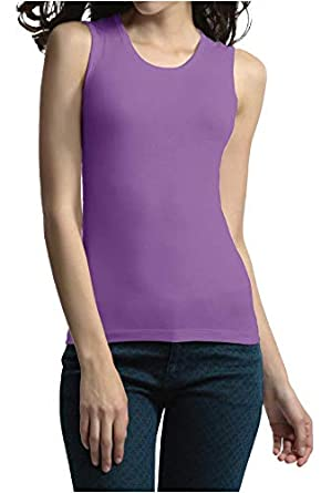 d479dc3849d188 Palm® Ladies Womens Warmth Generation Lightweight Thermal Sleeveless Vest Top   Amazon.co.uk  Clothing
