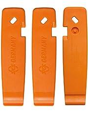 SKS Germany SKS - Juego de desmontadores de neumáticos (106 x 26,7 x 4,2 mm), Color Naranja