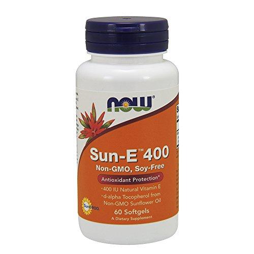 Now Sun-E 400 IU SF,60 Softgels