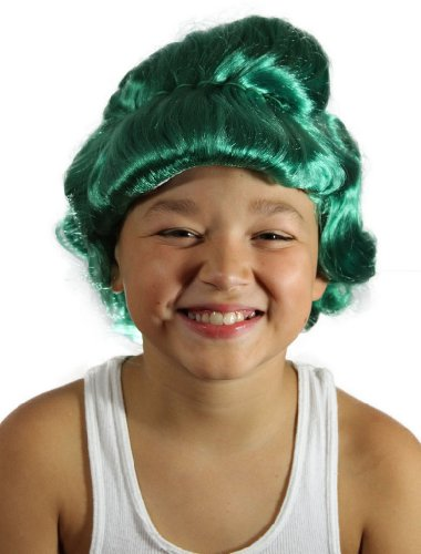 My Costume Wigs Boy's Oompa Loompa Wig (Green) One Size fits all ()