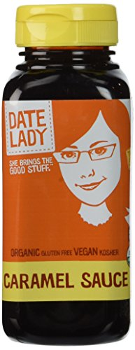Date Lady Caramel Sauce in a Squeeze Bottle, 12 oz