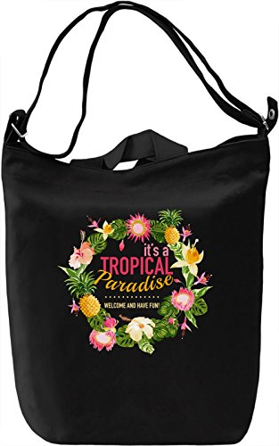 Tropical paradise Borsa Giornaliera Canvas Canvas Day Bag| 100% Premium Cotton Canvas| DTG Printing|