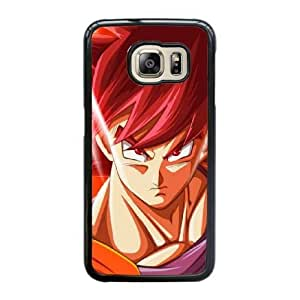 Generic Fashion Hard Back Case Cover Fit for Samsung Galaxy S6 Edge Cell Phone Case black Dragon Ball SEU-4104199