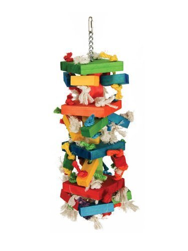 Paradise Toys XL Knots-N-Blocks, 8-Inch W by 22-Inch L by Caitec Corp