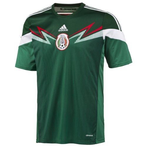 Men's adidas Mexico Home Jersey 2013/14