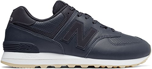 new balance Men s 574 Black Running Shoes-9 UK India (43 EU)(9.5 US)  (ML574DAN)  Buy Online at Low Prices in India - Amazon.in 2bee8c46a1c8b