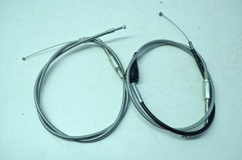 - Harley Davidson 56457-00 Harley-Davidson Steel Braided Throttle Cable