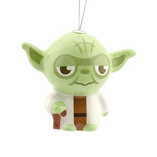 Hallmark Star Wars Yoda Decoupage Christmas Ornament