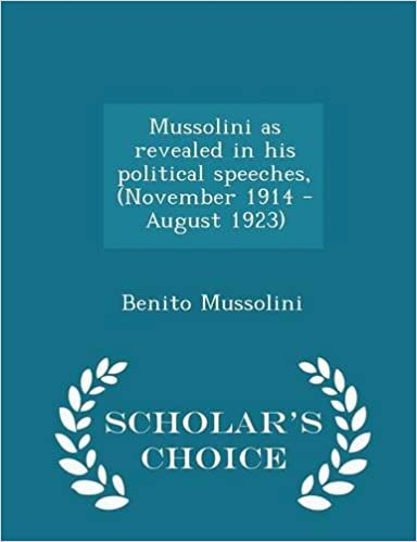 Scribd download di ebook Mussolini as revealed in his political