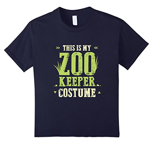 Kids Funny This Is My Zoo Keeper Costume T-shirt Halloween Gift 12 (Creative Brother And Sister Halloween Costumes)
