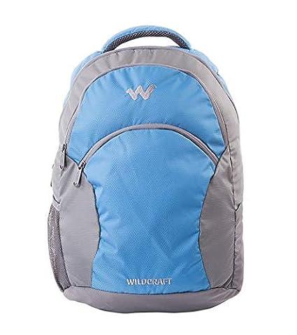 Wildcraft Ace 21 Litres Blue Laptop Backpack-(Size 46Hx33Wx15D cms)   Amazon.in  Bags de5a9c7302107