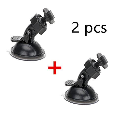 Dash Camera Suction Mount Cup Holder Vehicle Video Recorder Windshield & DashBoard for yi Dash Car DVR Camera GPS ()