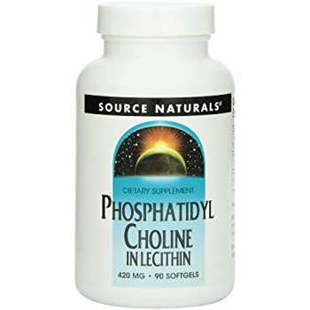 Source Naturals Phosphatidyl Choline, 420mg, 90 Softgels