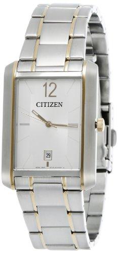 Citizen Classic Quartz Movement White Dial Men's Watch BD0034-50A