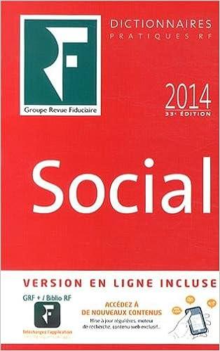 Livres gratuits en ligne Dictionnaire Social 2014 pdf