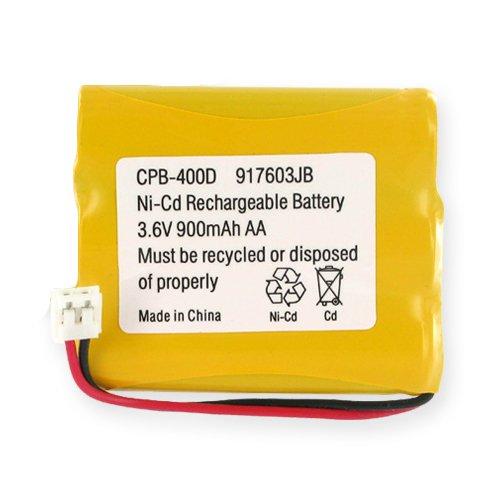 General Electric 26938 Cordless Phone Battery Ni-CD, 3.6 Volt, 900 mAh - Ultra Hi-Capacity - Replacement for Rechargeable (General Electric Cordless Phones)