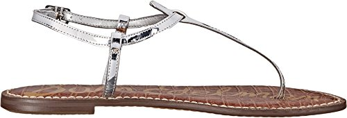 Liquid Silver Saddle Argent Edelman Sam Gigi Clair Metallic soft Womens Cg776q