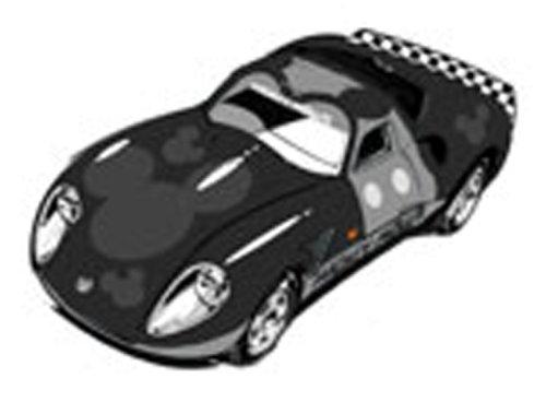 スピードウェイスター ミッキーマウス(ブラック×グレー) 「トミカ ディズニー ピクサーモータース DM-10」の商品画像