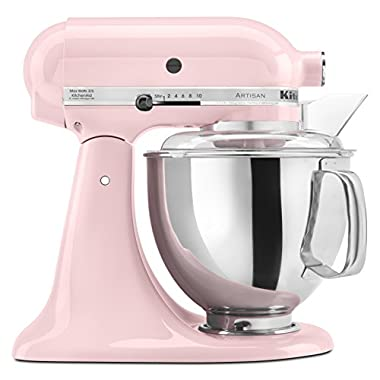 KitchenAid KSM150PSPK Komen Foundation Artisan Series 5 Quart Mixer, Pink