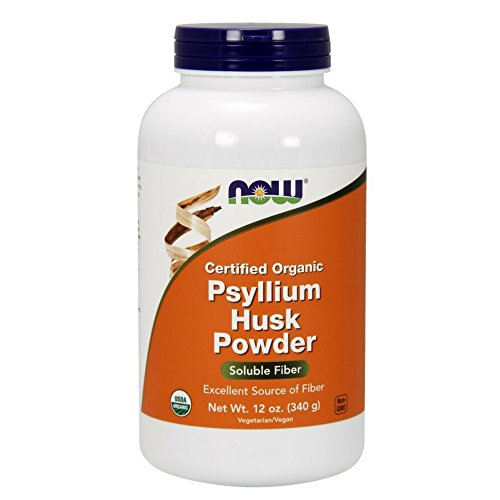 NOW Organic Psyllium Powder 12 Ounce
