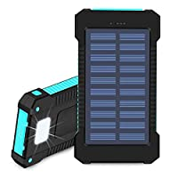 Hidver Solar Phone Charger 20000mAh Port...