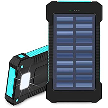 Amazon.com: Solar Charger, STOON 10000mAh Portable Solar ...