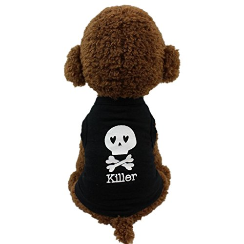 Iuhan Fashion Dog Clothing Cotton T shirt Puppy Costume For Small Dog (S, - Dog Accessories And Clothing