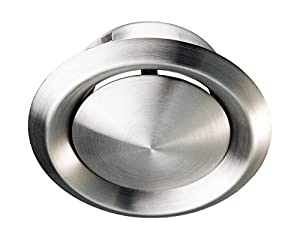 Stainless Steel Metal Ceiling Mounted Round Air Valve Vent