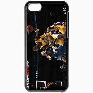 XiFu*MeiPersonalized iphone 6 4.7 inch Cell phone Case/Cover Skin NBA 2K14 Wallpaper Games BlackXiFu*Mei