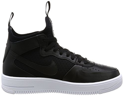 Nike Heren Air Force 1 Ultraforce Mid Schoenen Zwart / Wit