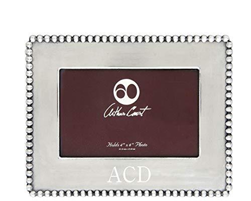 - Arthur Court Designs Aluminum Engravable Frame 4x6