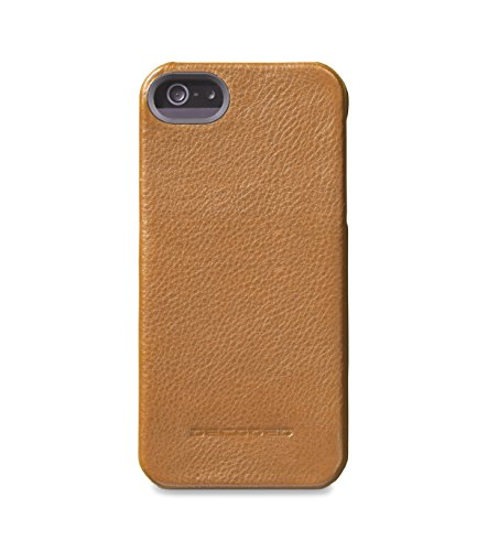 Decoded - D4IPO5BC1BN - Apple iPhone 5/5S Leder Case in Braun