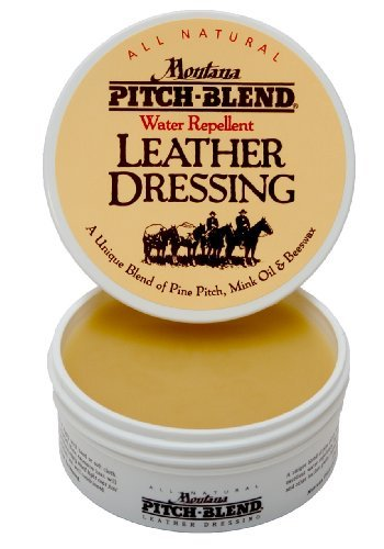 Montana Pitch-Blend All Natural Leather Dressing 4oz Jar