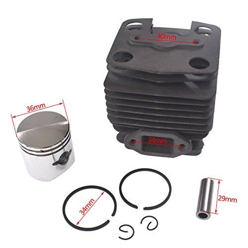 (sthus Cylinder Assy Piston for Zenoah BC3410FW BC4310FW Brushcutter)