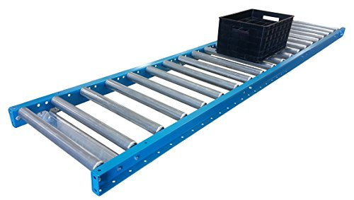 "Gravity Conveyor Frame & Rollers | 24"" x 5' Gravity Conveyor 