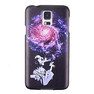 YULIN caso duro del patrón de la historieta para el universo i9600 Samsung Galaxy S5