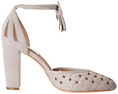 Lauren Ralph Lauren Womens Verna Dress Pump Stone / Stone Kidsuede