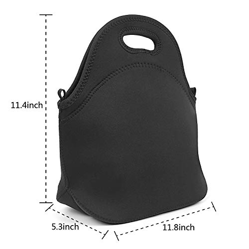 d286754af2422 uter ewjrt Durable Polyester John-Lennon-Poster- Funny Lunch Box Toto Mom  Bag for School Work Outside Picnic