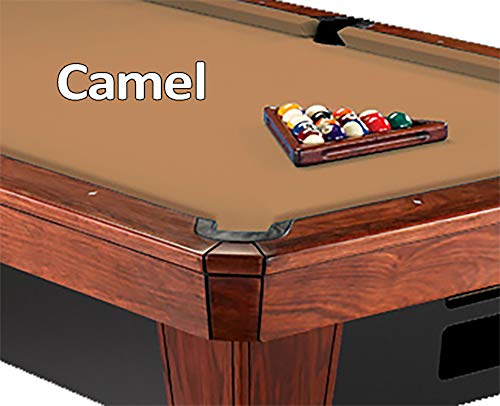 Oversize Camel Pool Table Felt - 8' Oversized Simonis 860 Camel Billiard Pool Table Cloth Felt