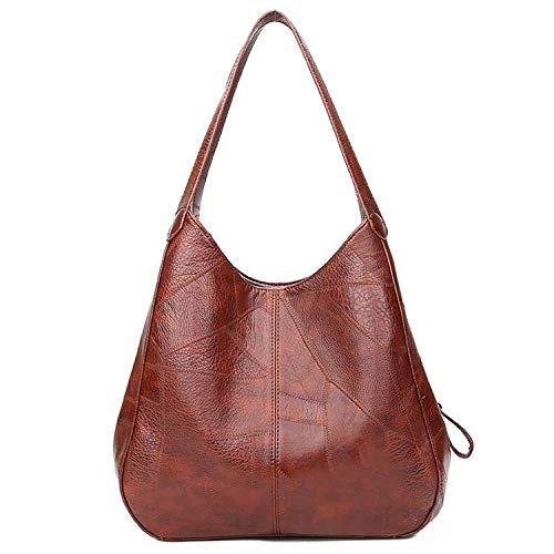 (Vintage Womens Hand bags Designers Handbags Women Shoulder Bags Female Top-handle Bags Handbags,Brown,33 Pse)