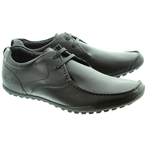 Magro London Laço escudo Base Sapatos Preto vUEqE6ax