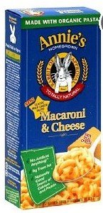 ANNIE'S Organic Pasta MACAROI & CHEESE Totally Natural 6 oz. (Pack of 3) (CLASSIC MACARONI & CHEESE) by Annie's Homegrown