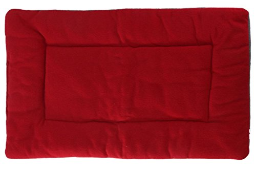 1Pcs Apogee Popular Pet Bed Sleep Mat Size L Furniture Mattress Rug Cozy Blanket Color Wine Red