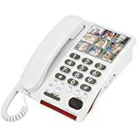 Serene 26dB Amplified Photo Dial Speakerphone for Hearing-Memory Loss